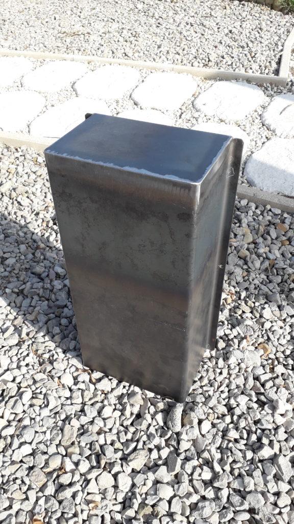 capot de protection acier fabrications métalliques