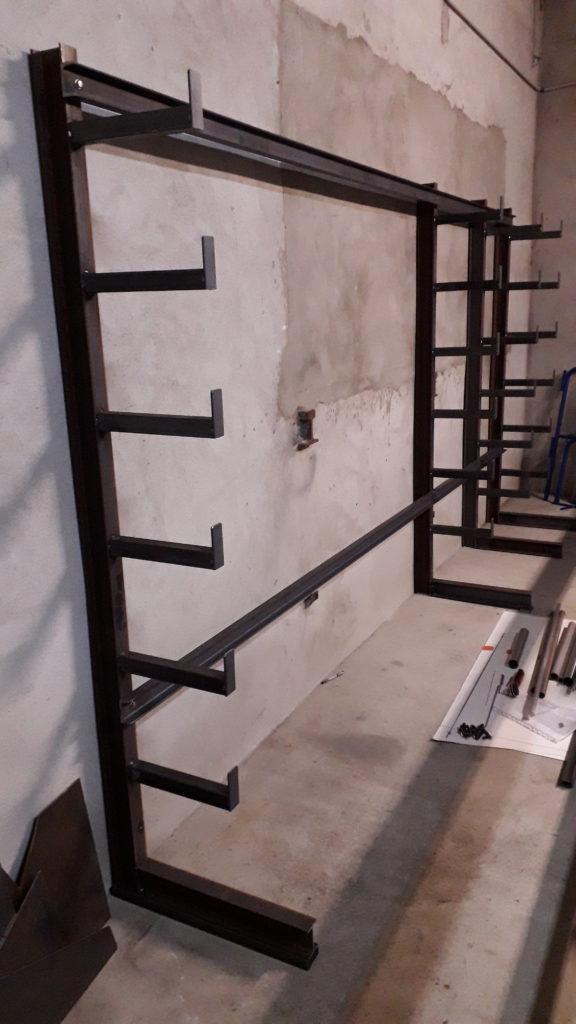 rack acier