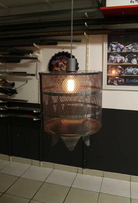 lampe base de filtre industriel
