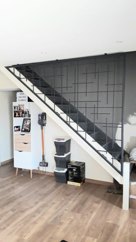 garde corps acier et peinture epoxy