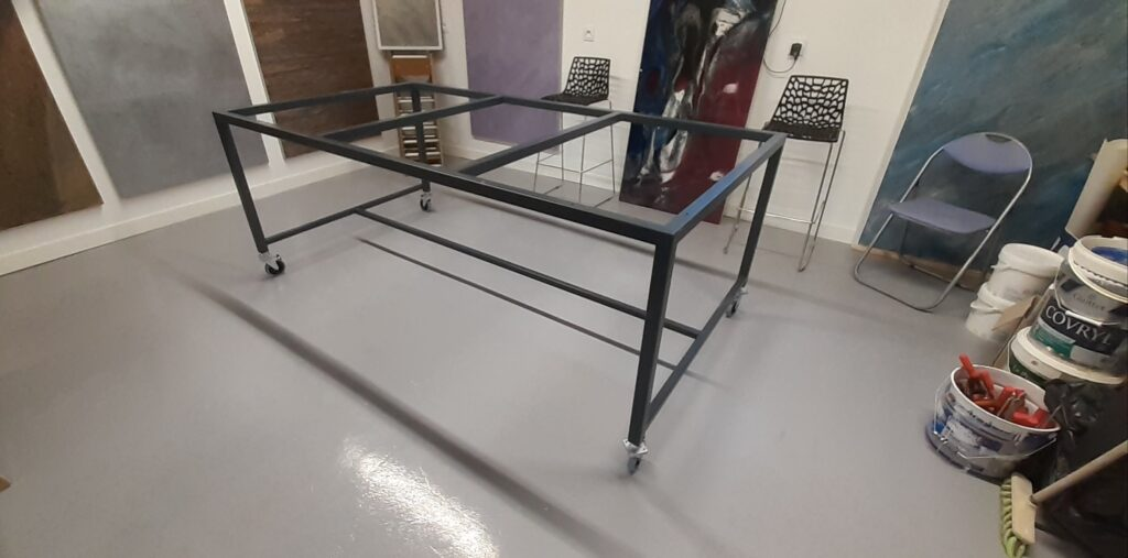chassis table de travail